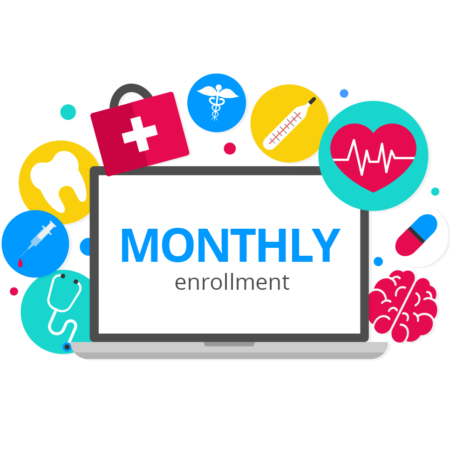 Monthly Enrollment with Campus RX